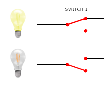 1 way switches