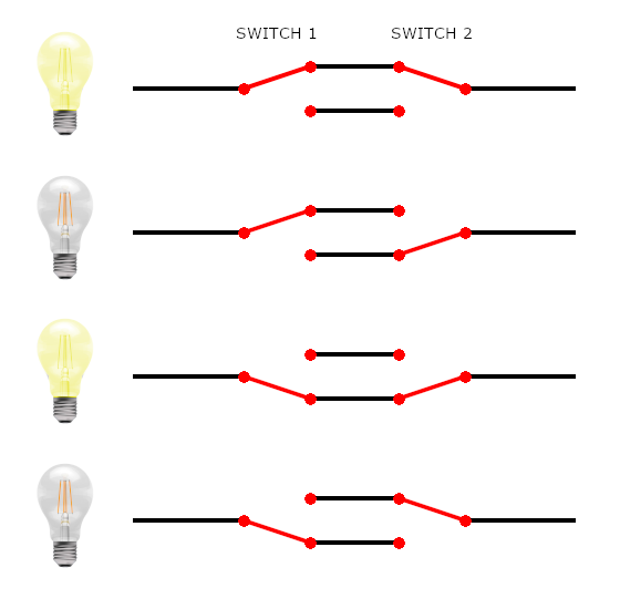 2 way switches